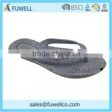 Grey soft comfortable cheap house slippers