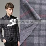 SDL21167A Men 's ware use polyester rayon harlequin checks fabric with high quality