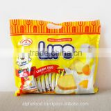 Best Brand Biscuit LIPO 300g Cream Egg Cookies with Crispy Texture, Low-Salt,Low-Fat