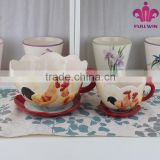 Home Deco Ceramic Vase Fashion Design Ceramic Vase Set