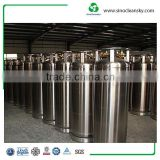 DOT 195L Cryogenic Liquid Nitrogen , Oxygen , CO2 Gas Cylinder , Tank For Sale