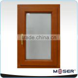 elegant timber with aluminum composite high performance good quality window