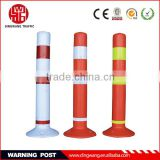 flexible road delineator post