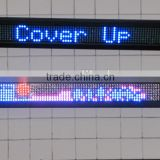 dual color led display sign in bus station, led video display P8 led display sign for bus