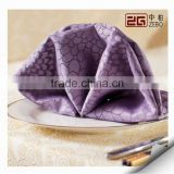 Hotel or Restaurant Used Customized Colorful Cotton Damask Table Napkin                                                                         Quality Choice