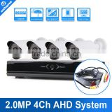 Camera Security System 1080P AHD 4CH DVR Kit 4PCS 2.0MP IR Outdoor IR Bullet Video Home Security AHD Camera CCTV DVR Kit