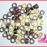 1000pcs Per Box Hair Extension Micro Beads Wholesale High Quality Silicon Beads Hair Extension Tools