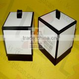 square tea tin paper canisters
