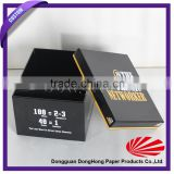 Various styles custom printed shoe box, color printed box packing, custom printed hat box