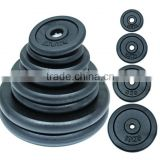 Black Painted Cast Iron Weight Plate DY-WP-011