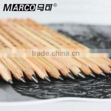 MARCO 7001 wooden body standard sketch pencil, high quality eco-friendly drawing pencil, natural color sketching pencil