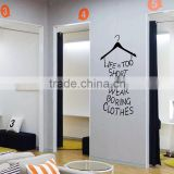 English hangers Wall sticker carved creative wall glass decorative stickers paper put sofa bedroom window wall sticker 057