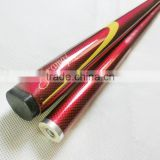 high- end 1/2-pc carbon pool cue graphite cue stick for sale 57inch