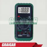 MY64 Digital Multimeter Voltmeter Ohm Electrical & AC/DC Professional Electric Voltmeter Ammeter
