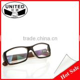Fashion Imitation wood big glasses Retro frame glasses Flat framework