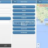 iOS Android APP real time tracker system GSM GPS tracking software platform with open source code