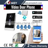 doorbell apartment building video intercom video phone electronic door lock