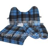Neck Travel and Pillow Travel Warm Blanket and Lumbar pillow Three-piece Travel Accessories