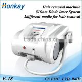 Best selling!!! No pain permanent result all kinds of skin diode laser to 810 for hair removal