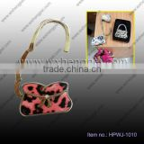 2014 new pink bowknot is concise and easy hanging buckle