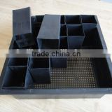 Plastic Flowers Hydroponics Nursery Trays Drip Irrigation Tray