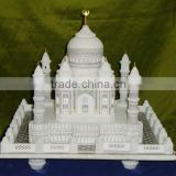 Decoration Marble Taj Mahal Replica Valentine GIft Handcrafted