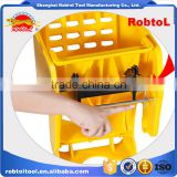 36L mop bucket with wringer side press plastic