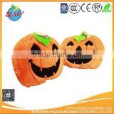 plush stuffed Halloween pumpkin toy