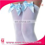Sexy Stockings sexy japanese stocking,cotton stocking with bow knot