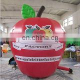 outside advertising inflatable apple