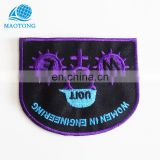 Wholesale custom design your own brand name team military fashion logo embroidery patches for clothing