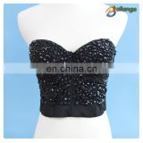 Bailange 2015 Newest sexy unique crochet bra woman underwire bras china swimwear