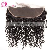 Wholesale Factory Price Brazilian Hair curly wave ear to ear lace frontal