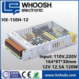 HX-150H-12 3 year Warranty Engineering Standard thin size 220V AC/12V DC/12.5A LED power supply