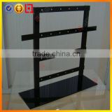 Black acrylic jewellery display stand