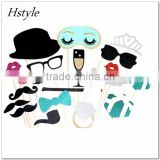 Bahoto Booth Props for Wedding Birthday Party Decoration 2016 New Design DIY Kits Photobooth Dress-up Acces PFB0087