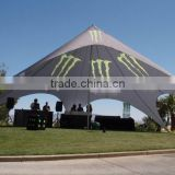 outdoor waterproof camping star canopy strong style color tent strong for car exhibition