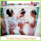 Backlit Flex Banner Film with three hot girl display