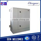 "SK-76105 galvanized iron 19"" cabinet with air conditioning/electronic instrument metal cabinet/18U outdoor enclosure"