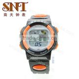 SNT-SP008F fashion stainless steel back multifunction watch