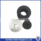 Custom black anodized cnc aluminum turning parts with factory                                                                                                         Supplier's Choice