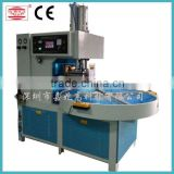 Automatic turn table high frequency synchronization welding and cutting machine