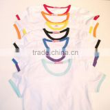 New arrive high quanlity soft touch custom blank 100% polyster raglan T-shirt for sublimation printing,lovers' clothes