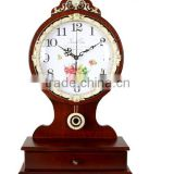 digital wooden clock desk wholesaler,Antique Table Clock,desktop clock