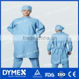 Protective Anti-Blood Disposable Surgical Gown with Knitted Cuff