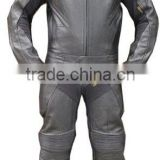 Motorcycle / Motorbike Leather Suit 2 pc Kevlar Padding