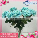 Tianjin artificial flower factory tiffany blue silk flowers for artificial flowers importers