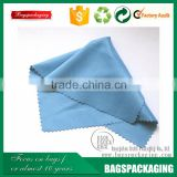 Light blue cleaning cloth microfiber for lens