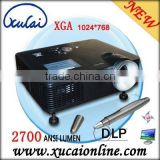 Interactive floor projector for advertising, trade show display shopping center, kids game DX220i