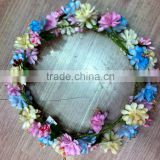 Boho Ladies Floral Flower Festival Wedding Garland Forehead Hair Head Band F1008